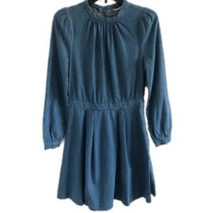 & OTHER STORIES denim prairie dress 6 • NEW
